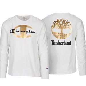 Champion Timberland Collab Long sleeve T-shirt M